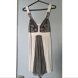 Urban Outfitters empire waist tank top